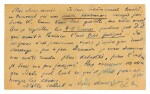 L. Trotsky. Autograph postcard signed to Frida Kahlo and Diego Rivera, 1939-1940
