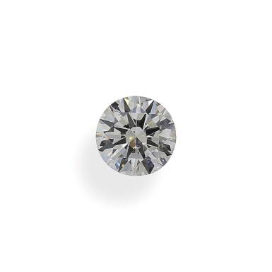 A 1.51 Carat Round Diamond, I Color, SI2 Clarity