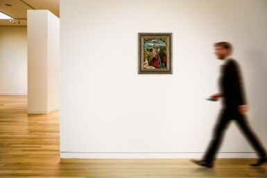 View 4. Thumbnail of Lot 513. The Holy Family in a landscape.