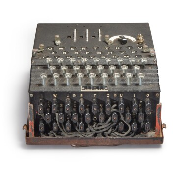 View 7. Thumbnail of Lot 55. A Fully Operational Enigma I in Original Condition.