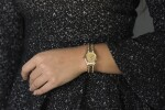 BOUCHERON | REF A245/1621 YELLOW GOLD AND DIAMOND-SET WRISTWATCH WITH BRACELET CIRCA 1990