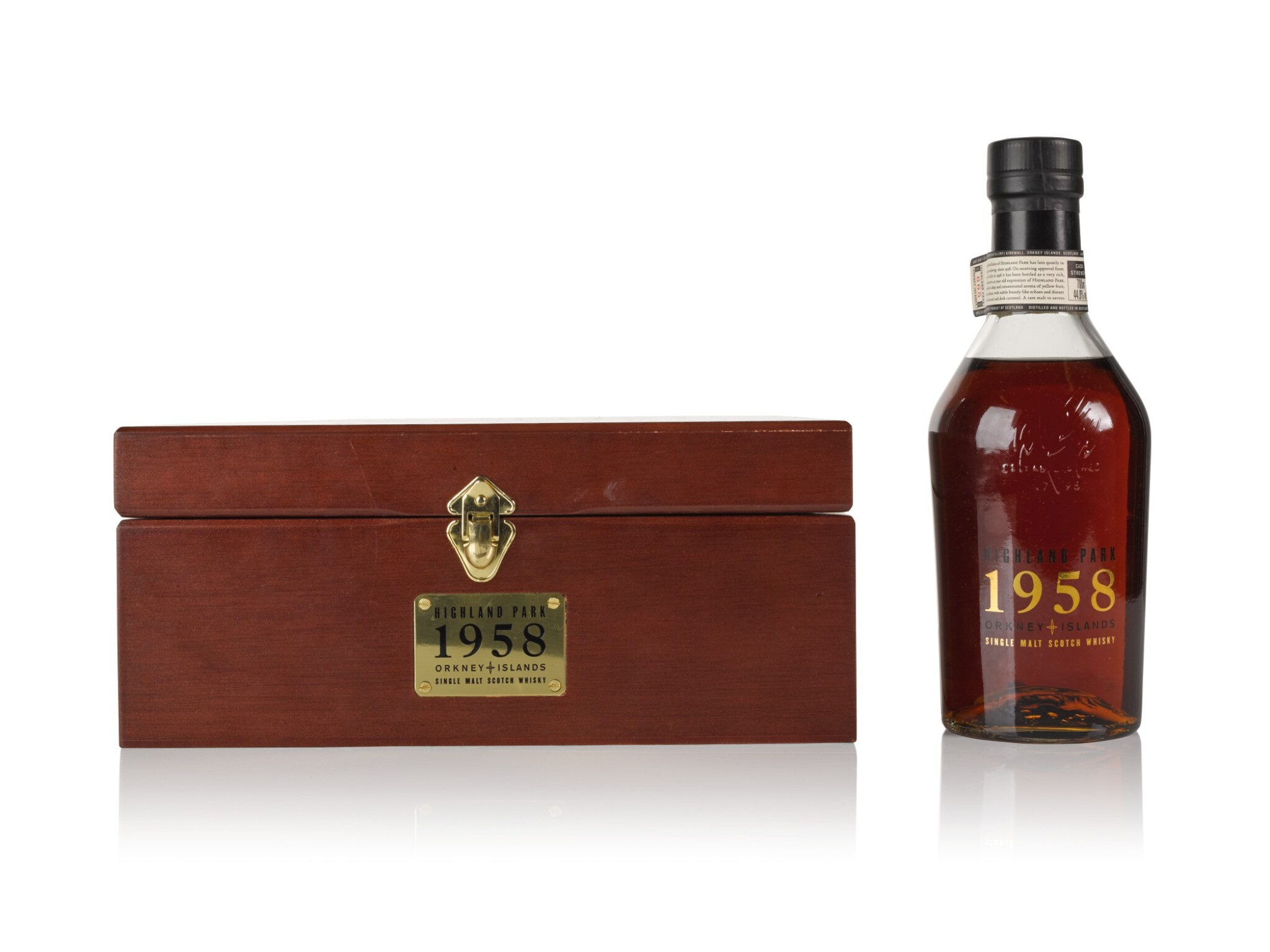 View full screen - View 1 of Lot 214. Highland Park 40 Year Old 44.0 abv 1958 .