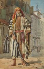BRITISH SCHOOL, POSSIBLY LATE 19TH CENTURY | An Arab Warrior