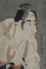 TOSHUSAI SHARAKU (ACTIVE 1794–1795), EDO PERIOD, LATE 18TH CENTURY | BANDO MITSUGORO II AS ISHII GENZO