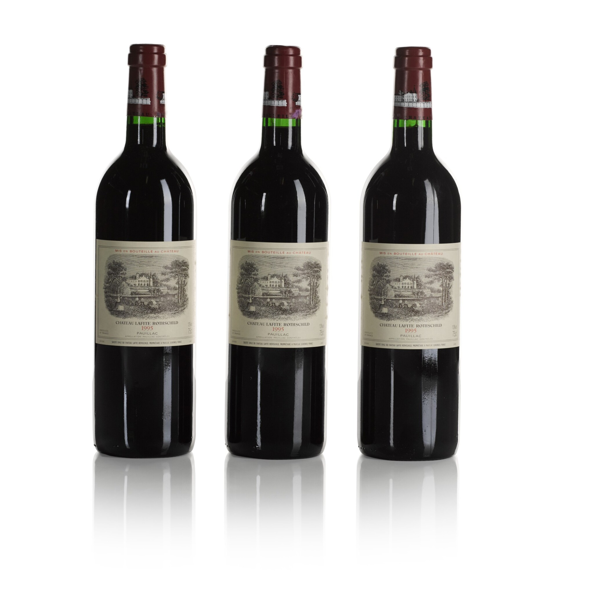 View full screen - View 1 of Lot 266. Château Lafite 1995  (12 BT).