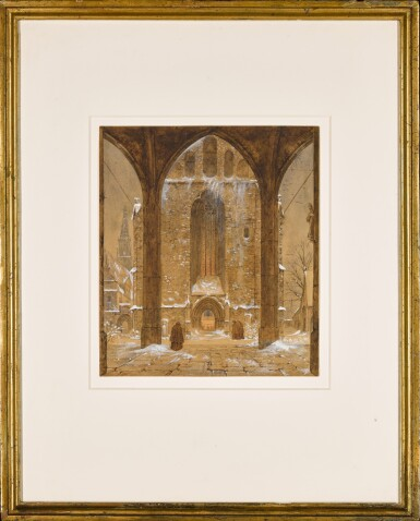 View 2. Thumbnail of Lot 40. Cloister in Winter.
