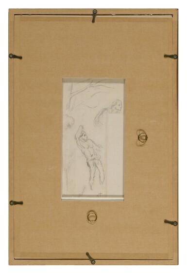 View 4. Thumbnail of Lot 5. PAUL CÉZANNE | ÉTUDE D'ARBRES & ÉTUDE DE PERSONNAGES (A DOUBLE-SIDED WORK).