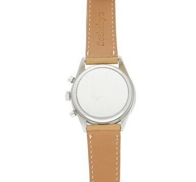 View 6. Thumbnail of Lot 14. Reference 6241 'Paul Newman' Daytona A stainless steel chronograph wristwatch, Circa 1968.