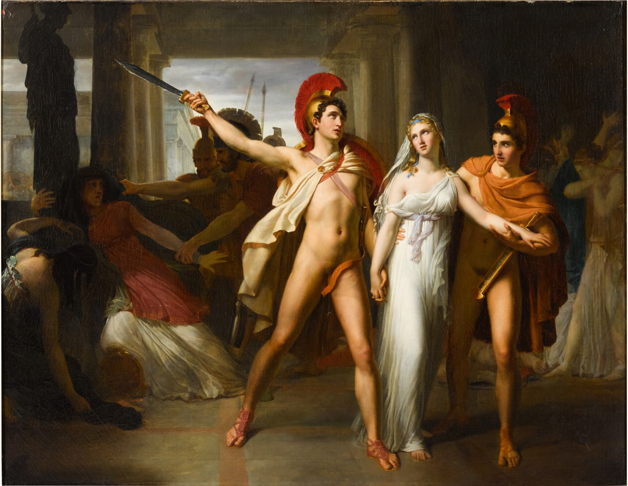 View full screen - View 1 of Lot 20. Castor and Pollux saving Helen.