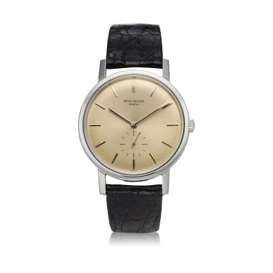 View 1. Thumbnail of Lot 237. Reference 3466  A stainless steel automatic wristwatch, Made in 1963.