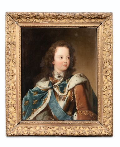 View 2. Thumbnail of Lot 84. Portrait of Louis XV as a child.