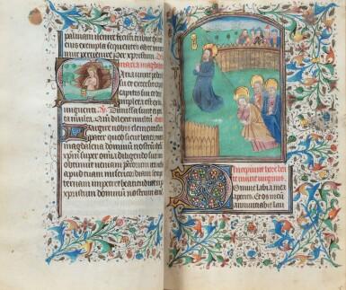View 2. Thumbnail of Lot 23. Livre d'heures (usage de Rome). Heures dites de Fyot de Mimeure. [Belgique, Bruges, vers 1460].
