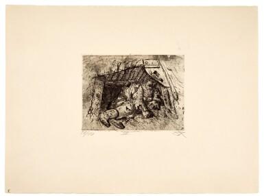 View 9. Thumbnail of Lot 19. Der Krieg (K. 70 - 119).