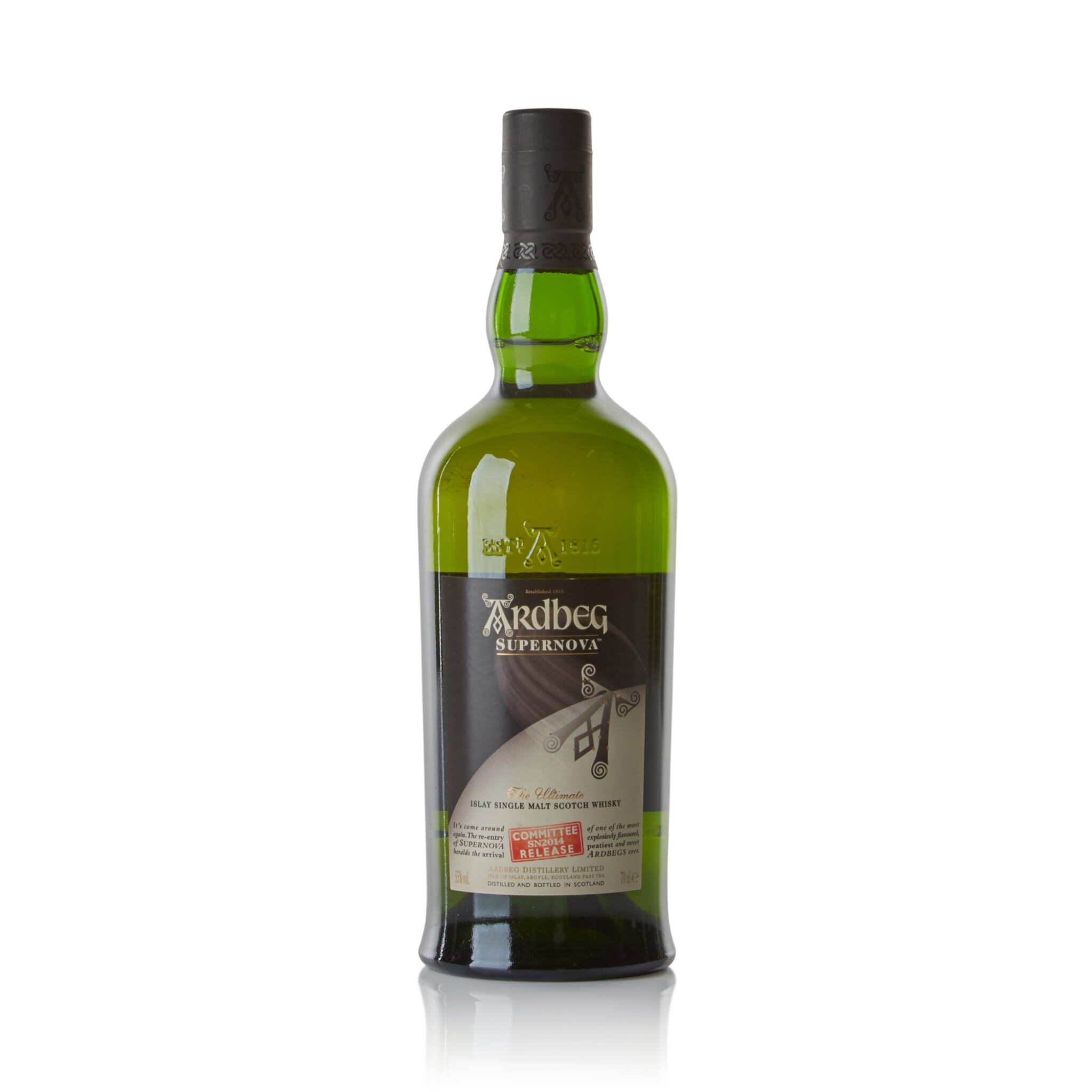View full screen - View 1 of Lot 127. Ardbeg Supernova Committee Release 55.0 abv NV .
