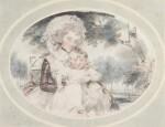 A portrait of Lady Hester Lushington (1750-1830) and her son Stephen Lushington (1782-1873)