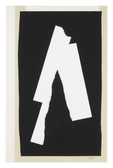 ROBERT MOTHERWELL | BLACK SOUNDS (WALKER ART CENTER 338)