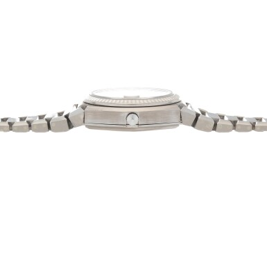 View 5. Thumbnail of Lot 427. 'The Texan' Quartz, Ref. 5100 BETA 21 White gold wristwatch with date and bracelet Circa 1970 | 勞力士 5100 BETA 21型號「'The Texan' Quartz」白金鍊帶腕錶備日期顯示,年份約1970.