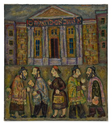 GRISHA BRUSKIN | MOSCOW SYNAGOGUE