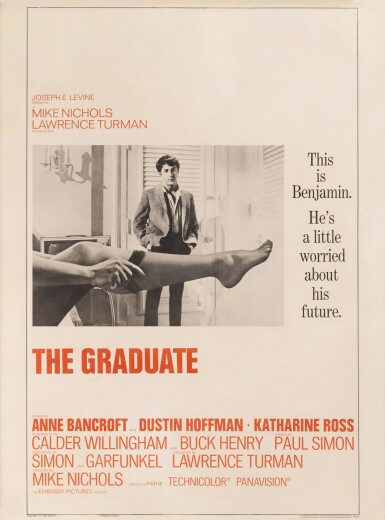 THE GRADUATE (1967) POSTER, US