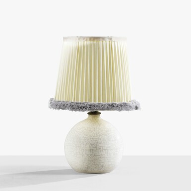 View 1. Thumbnail of Lot 232. JEAN BESNARD | TABLE LAMP, CIRCA 1925 [LAMPE, VERS 1925].