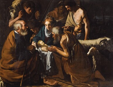CARAVAGGESQUE MASTER, CIRCA 1614 | The Adoration of the Shepherds