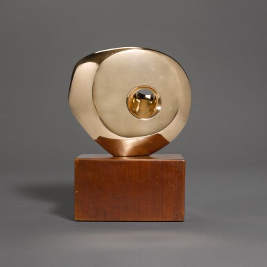 View 2. Thumbnail of Lot 602. DAME BARBARA HEPWORTH | PIERCED ROUND FORM.