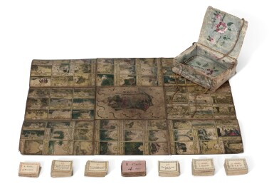 View 1. Thumbnail of Lot 172. Mecca--Boardgame, early 19th century.