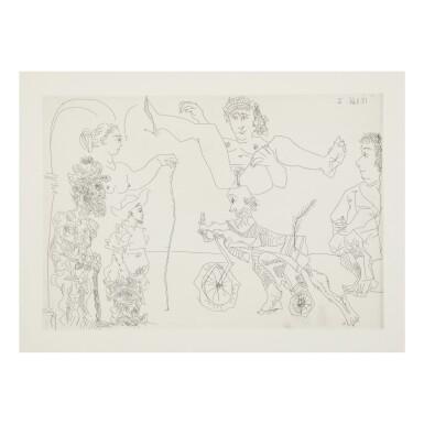 View 5. Thumbnail of Lot 169. PABLO PICASSO | LE COCU MAGNIFIQUE (B. 1244-1255; BA. 1432-1443; C. BKS 140).