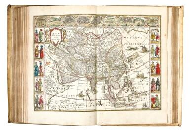 BLAEU   Theatrum Orbis Terrarum. Amsterdam, 1640-1654, 5 volumes, folio, contemporary Dutch vellum gilt