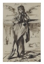 EUGENE BERMAN | UNTITLED (MERRY XMAS 1935)