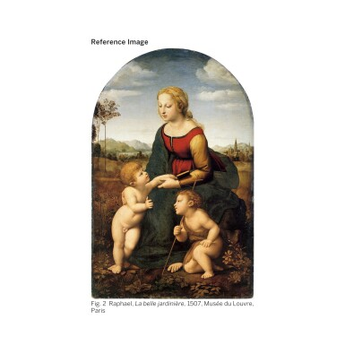 View 3. Thumbnail of Lot 28. WILLIAM BOUGUEREAU | SAINTE FAMILLE (RÉDUCTION).