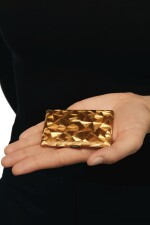 GOLD AND SAPPHIRE COMPACT, CARTIER