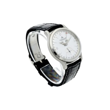 View 3. Thumbnail of Lot 242. REFERENCE 140.640.872 MASTER CONTROL A PLATINUM AUTOMATIC TRIPLE CALENDAR WRISTWATCH, CIRCA 1996.