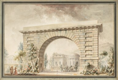 View 1. Thumbnail of Lot 69. The entrance of Hôtel Thellusson.