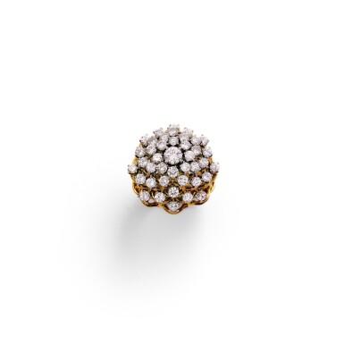 Diamond ring [Bague diamants], 1960s [vers 1960]