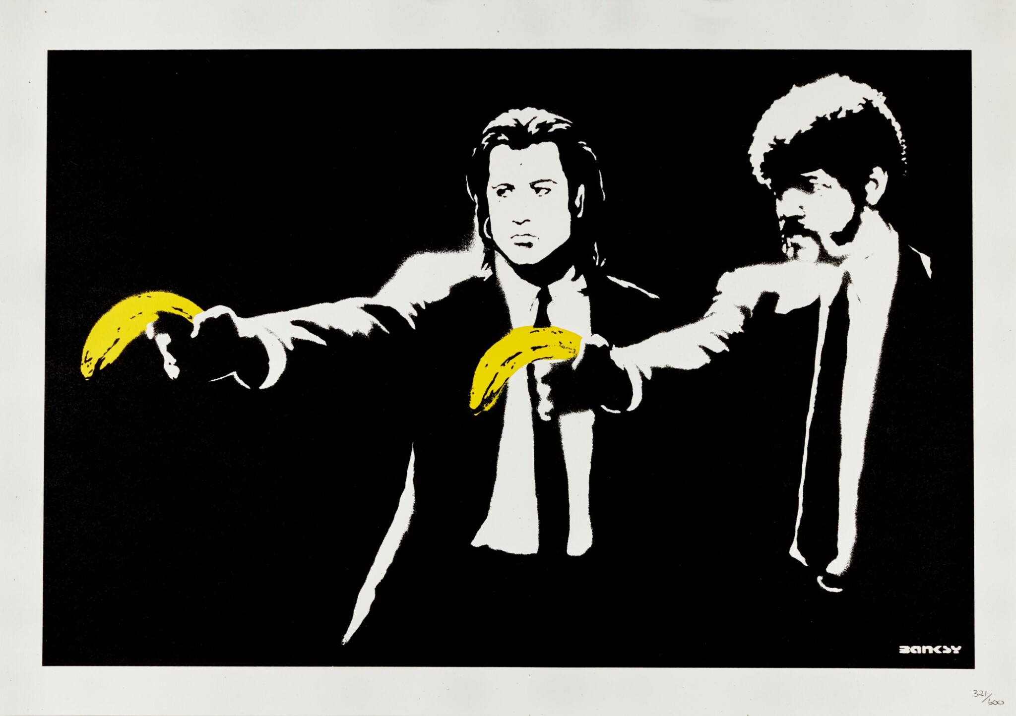 View full screen - View 1 of Lot 22. BANKSY | PULP FICTION.