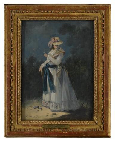 View 3. Thumbnail of Lot 146. An Elegant Young Woman.