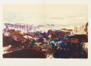 View 10. Thumbnail of Lot 181.  À la gloire de l'image.... Barcelone, 1977. 15 lithographies en couleurs. Edition originale..