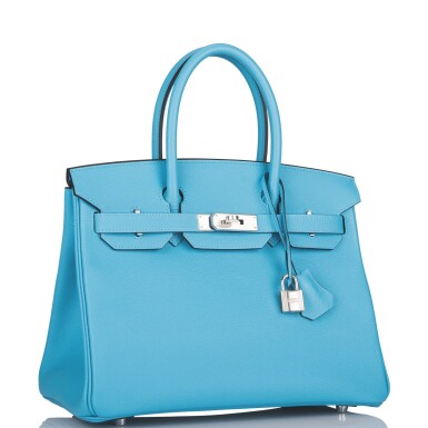 Hermès Bleu Du Nord Birkin 30cm of Epsom Leather with Palladium Hardware