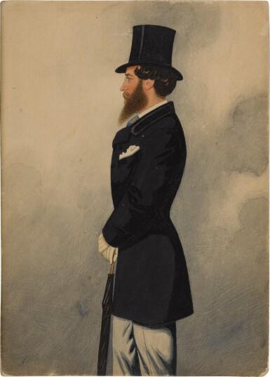 View 2. Thumbnail of Lot 162. Portrait of Captain Mildmay.