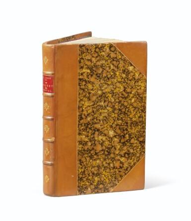 View 2. Thumbnail of Lot 86. Le Coffret de santal. 1879. Veau époque. Exemplaire de son ami Manet, dédicataire de deux poèmes..