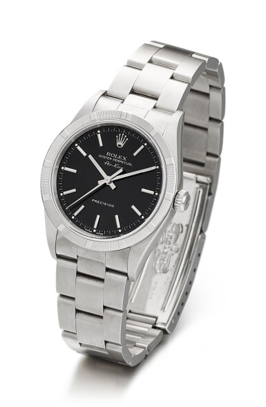 ROLEX | AIRKING, REFERENCE 14010 A STAINLESS STEEL WRISTWATCH WITH BRACELET, CIRCA 2000