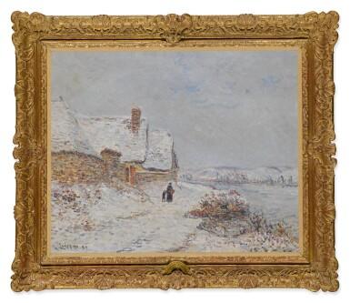 View 2. Thumbnail of Lot 7. La Neige à Tournedos sur Seine.
