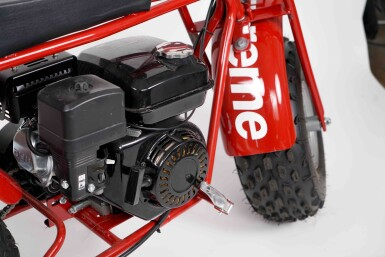 View 2. Thumbnail of Lot 9. SUPREME COLEMAN CT200U MINI BIKE.