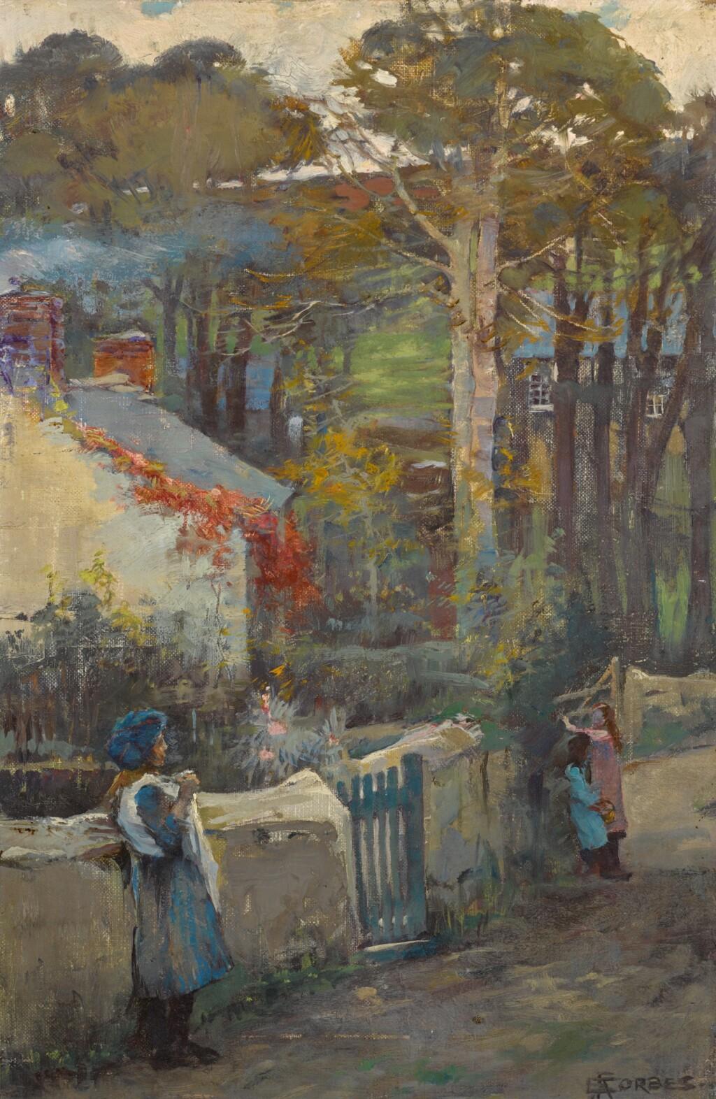ELIZABETH ADELA FORBES | THE VILLAGE LANE