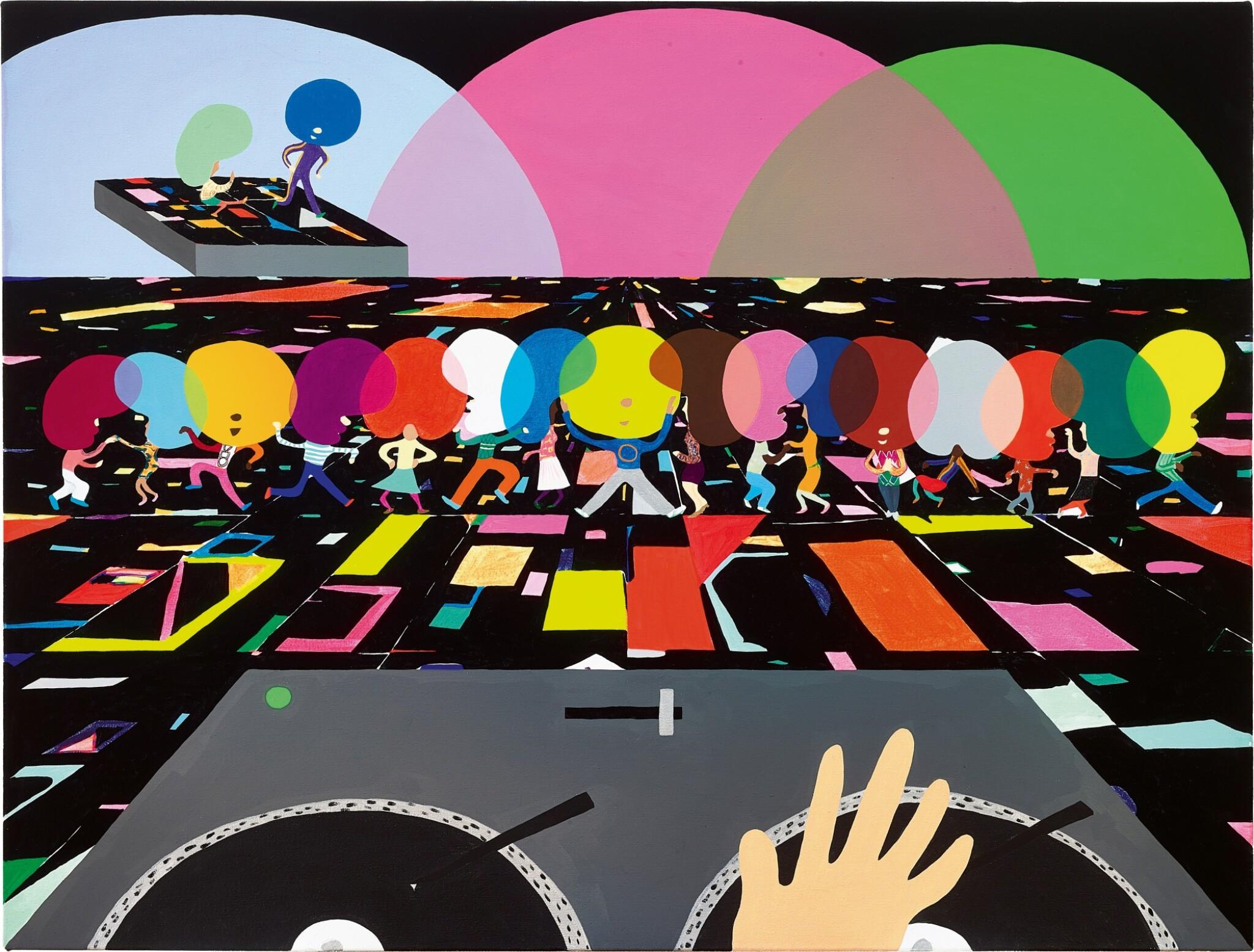 View full screen - View 1 of Lot 1. Peter McDonald 彼得・麥當勞  |  Disco 的士高.