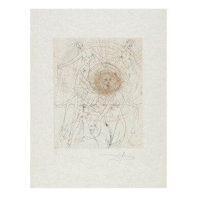 View 6. Thumbnail of Lot 93. SALVADOR DALÍ   THE HIPPIES (MICHLER & LÖPSINGER 377-387; FIELD 69-13).