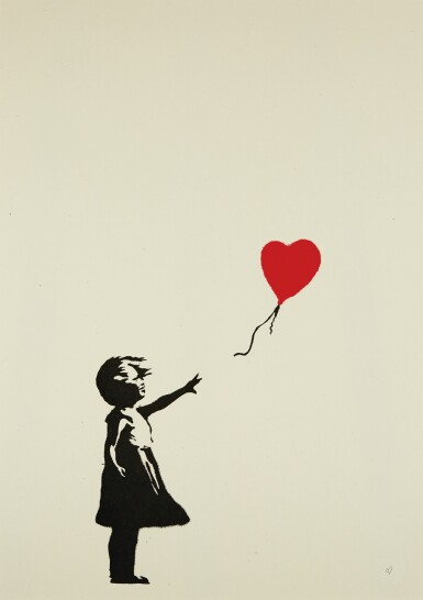 BANKSY | GIRL WITH BALLOON