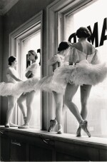 ALFRED EISENSTAEDT | FUTURE BALLERINAS OF THE AMERICAN BALLET THEATRE, 1937