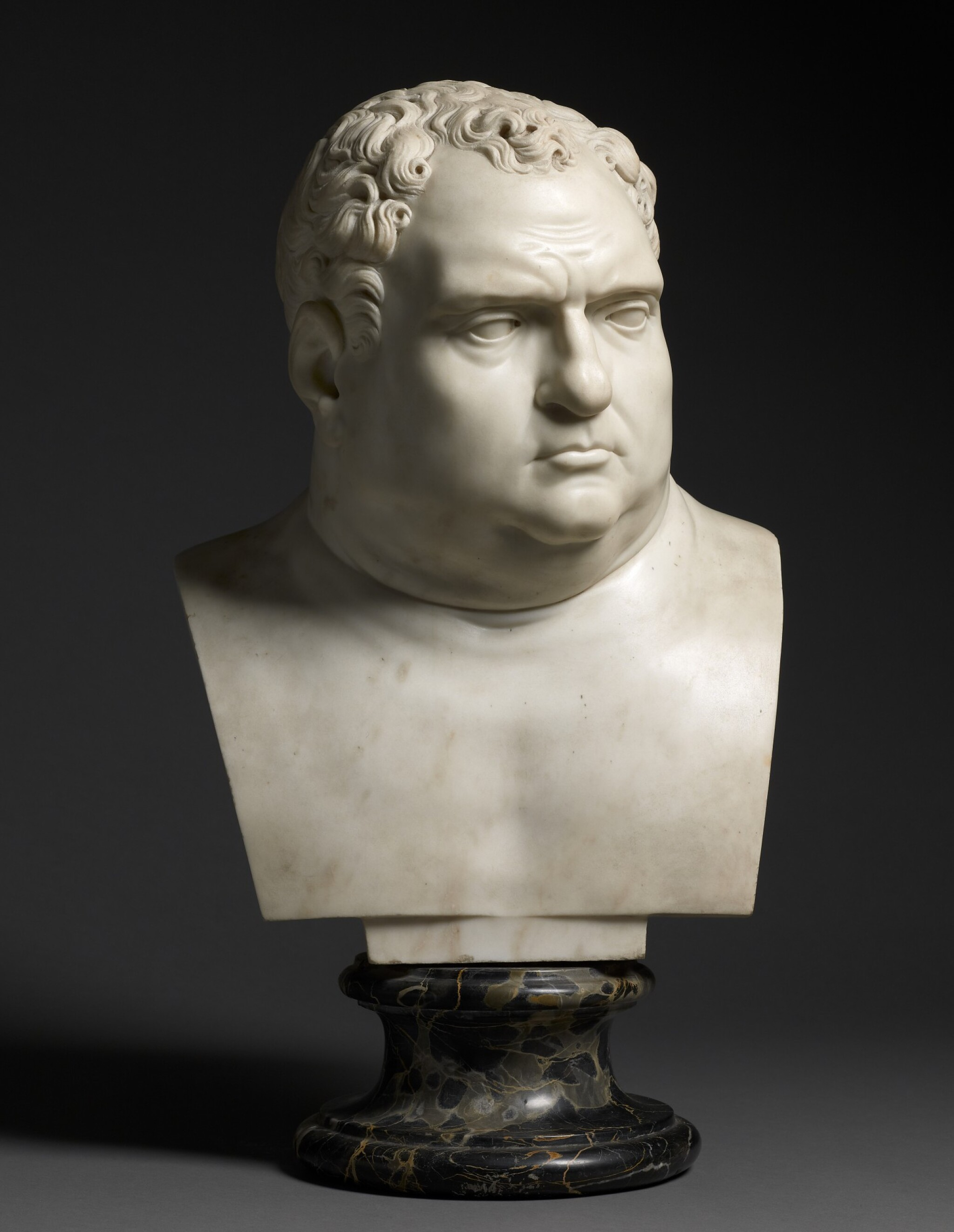 View full screen - View 1 of Lot 14. ITALY | BUST OF VITELLIUS.